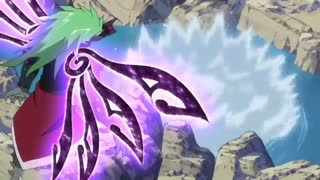 مبارزه میراجین و فرید از انیمه fairy tail