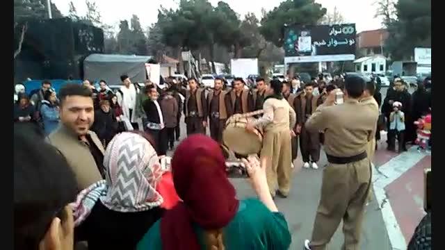 رقص کردی - نمایشگاه بوم گردی و گردشگری تهران - پارت 1