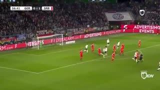 خلاصه دیدار آلمان 1_1 صربستان (بازی دوستانه ملی)