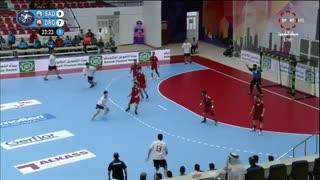 دیدار تیم های الصدقه لبنان و دراگون چین در قهرمانی باشگاه های هندبال آسیا2019