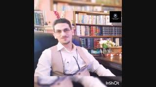 حکیم رضی _ویدئوی تبریک سال نو توسط و سخنان نیکو درباب حال