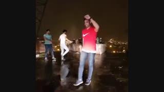 رقص پسران تورک خوشتیپ آذربایجان با آهنگ عید نوروز در تبریز ، گروه اوتلار