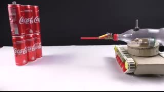 خرید کلیپ آموزشی ساخت تانک اسباب بازی با پرتاب گلوله