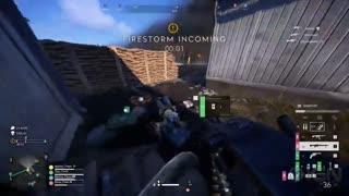 ۹ دقیقه از بخش Firestorm بازی Battlefield V