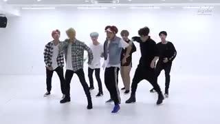 تمرین رقص DNA بی تی اس(موقت)