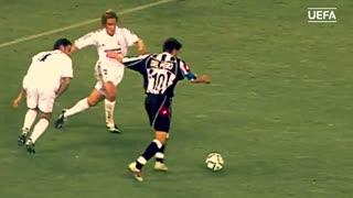لحظات خاطرهانگیز آلساندرو دلپیرو در لیگ قهرمانان اروپا