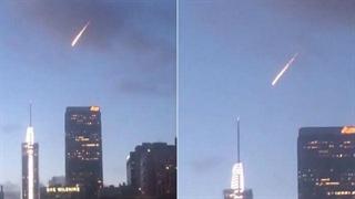 داستان شهاب سنگ عجیب در آسمان لس آنجلس