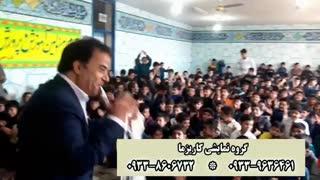 شعبده بازی در مراسم مدرسه
