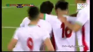 خلاصه دیدار امید ایران 3_1 امید ترکمنستان (مقدماتی المپیک 2020)