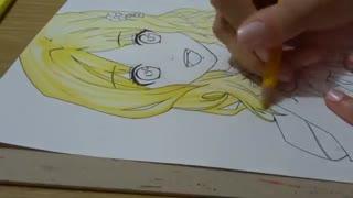 نقاشی انیمه ای