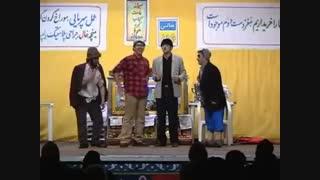 رضا نظری - شب نشینی در گورستان 1