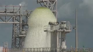 سیستم خنک کننده لانچ پد ناسا با ظرفیت 450000 گالن