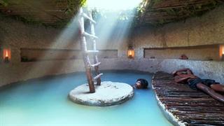 مهندسی باستانی : استخر مخفی زیر زمین