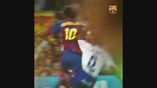 تبریک تولد رونالدینیو توسط باشگاه بارسلونا