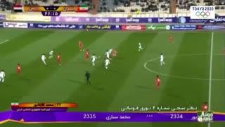 خلاصه دیدار امید ایران 3_0 امید یمن (انتخابی المپیک 2020)