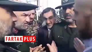 حضور سردار سلامی در شهرستان سیل زده آق قلا