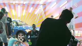 تحویل اتومبیل آئودی به بازیکنان رئال مادرید