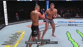 خلاصه مبارزه استیفن واندربوی تامسون/آتونی شوتایم پتیس در  UFC Fight Night 148