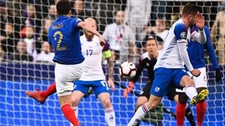 خلاصۀ دیدار فرانسه 4_0 ایسلند (مقدماتی یورو 2020)