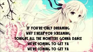 نایتکور همه هیولاها رو صدا بزن _ nightcore calling all the monsters