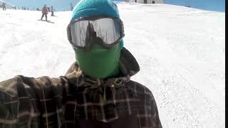 گزارش ویدیویی مجله وارونه از پیست اسکی  شمشک فروردین 98