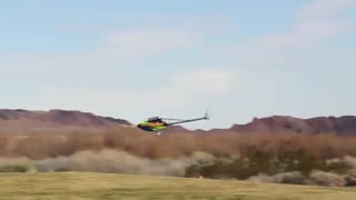 هلیکوپتر کنترلی Trex 800E با قدرت مانور بالا