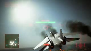 بخشی از گیم پلی Ace Combat 7-بازیمگ