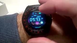 خرید ساعت هوشمند جی تب دارای گام شمار، ضربان قلب، تحلیل خواب