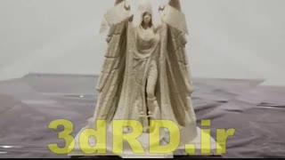 ساخت مجسمه با پرینترهای سه بعدی شرکت 3drd