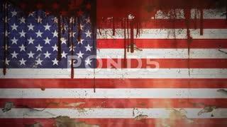 واقعیت آمریکا در با نمایش پرچم