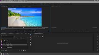 آموزش وارد کردن و مرتب سازی فایل ها در پریمیر پرو Premiere Pro