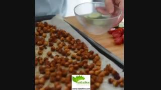 طرز تهیه یه لقمه خوشمزه با نخودهای برشته - سبزی لاین