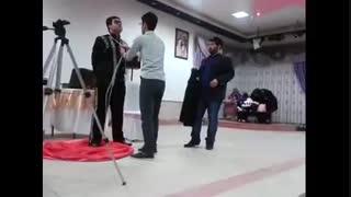 آموزش شعبده پوشیدن کت با دستان بسته ( اجرای آیتم پاراوان و کت )