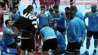 دیدار تیم های الوکره و الدحیل قطر درفینال مسابقات  قهرمانی هندبال باشگاه های آسیا2019
