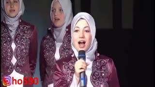 """سرود زیبای """"السلام علیک یا رسول الله"""" - گروه سرود دختران ترکیه ای به زبان آلبانی - Assalamu Alayka Ya Rasool Allah"""