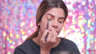 FULL FACE USING ONLY KIDS MAKEUP CHALLENGE!( آرایش عروسکی ) (چالش آرایش کودکانه )