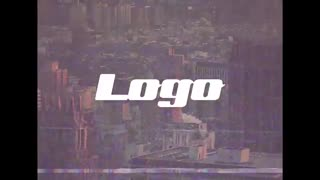 پروژه آماده پریمیر لوگو پارازیت - Logo Reveal VHS Glitch Edition