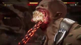 کومبو ویدیو شخصیت باراکا در نسخه بتا Mortal Kombat 11