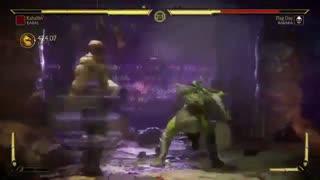 کمبو ویدیو شخصیت Kabal در نسخه بتا Mortal Kombat 11