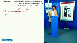 تدریس کامل خط و معادله خط در ریاضی نهم از علی هاشمی