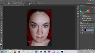آموزش روتوش صورت با فتوشاپ
