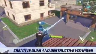 بازی جدید بتل رویال cyber hunter