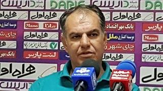 کنفرانس خبری مربی ماشینسازی پس از تساوی مقابل نفت مسجد سلیمان