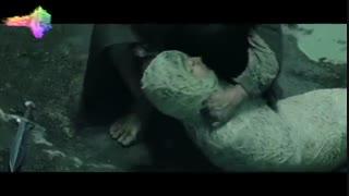 سکانس ارباب حلقهها ۳ فرودو در دام عنکبوت و تلاش سم برای نجات او