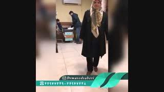 دو ماه بعد از تعویض مفصل لگن و رضایتمندی بیمار  | دکتر مسعود صابری