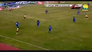 خلاصه دیدار پارس جنوبی جم 2_1 استقلال خوزستان (هفتۀ بیستوچهارم لیگ برتر ایران)