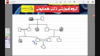 آموزش ژنتیک مبحث الگو های توارثی و شجره نامه توسط علیرضا صبوری