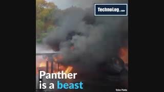 مجهز ترین ماشین آتش نشانی