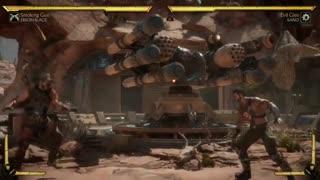 Mortal Kombat 11 Erron Black Smoking Gun Gameplay (PS4, Xbox One, Switch, PC)