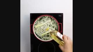 طرز تهیه سبزی پلو با ماهی   sabzi polo mahi   محصولات کنجدی بیسفود